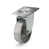 Swivel castor with top plateThe series  71