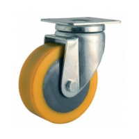 Swivel castor with top plateThe series  47