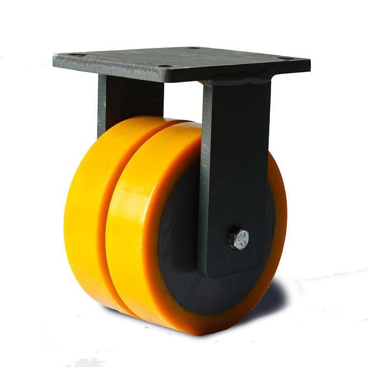 A new generation of polyurethane wheels.