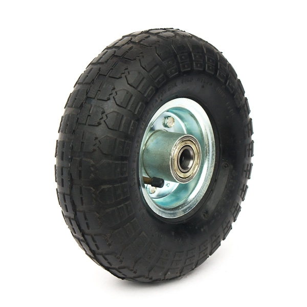 Pneumatic tyre with a camera on the rim.